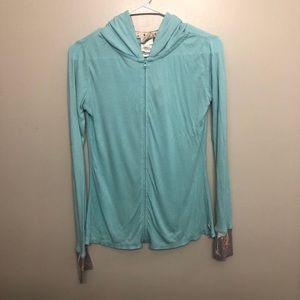 munki munki hoodie blue small